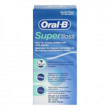 Зубная нить Oral-B Super Floss, 50 шт в Екатеринбурге