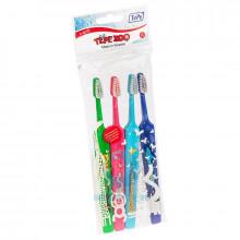 Зубные щетки TePe Zoo Select набор, 4 шт в Екатеринбурге