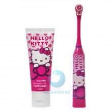 Набор Hello Kitty зубная щетка + зубная паста в Екатеринбурге