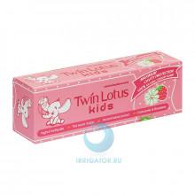 Зубная паста Twin Lotus Kids (клубника и ромашка) 3-10 лет, 50 гр в Екатеринбурге