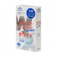 Отбеливающие полоски Megami White Xtreme 3D PRO, 28 шт. в Екатеринбурге