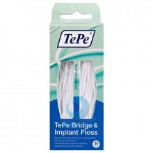 Зубная нить TePe Bridge&Imlant Floss, 30 шт в Екатеринбурге