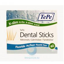 Зубочистки TePe Wooden Fluoride, 40 шт в Екатеринбурге