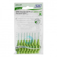 Ершики TePe Interdental Brush extra soft 0.8 мм Green в Екатеринбурге