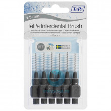 Ершики TePe Interdental Brush 1.3 мм Grey в Екатеринбурге