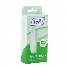 Зубная нить TePe Multifloss 3 в 1, 100 шт. в Екатеринбурге