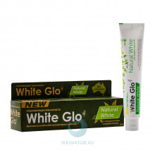 Зубная паста White Glo Natural White Отбеливающая, 100г в Екатеринбурге
