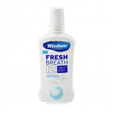 Ополаскиватель Wisdom Fresh Breath 12 антибактериальный, 500 мл в Екатеринбурге
